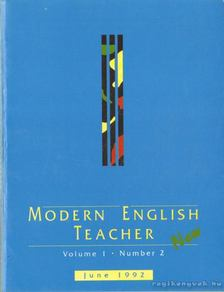 Modern English teacher [antikvár]
