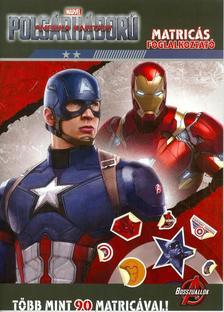 - Amerika Kapitány - Polgárháború matricás foglalkoztató (16)