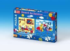 - Bogyó és Babóca - puzzle - Szivárványhal