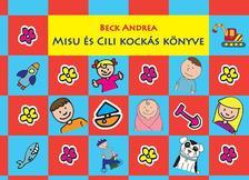 Beck Andrea - Misu és Cili kockás könyve  - PIROS-KÉK