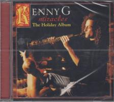 KENNY G - MIRACLES CD THE HOLIDAY ALBUM KENNY G