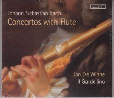 Bach - CONCERTOS WITH FLUTES,CD