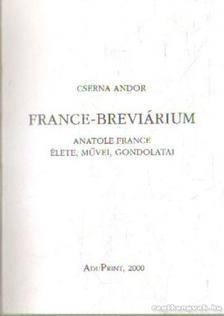 Cserna Andor - Frsnce-Breviárium [antikvár]