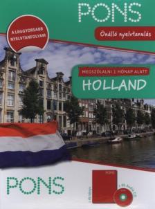 - MEGSZÓLALNI 1 HÓNAP ALATT - HOLLAND - KÖNYV+CD  (ÚJ)