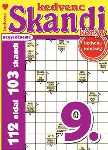 CSOSCH KIADÓ - Kedvenc Skandi Könyv 9.
