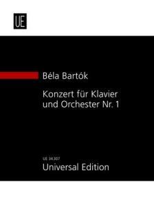 Bartók Béla - KONZERT FÜR KLAVIER UND ORCHESTER NR.1 (1926) STUDIENPARTITUR