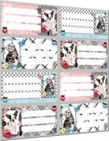 13159 - Füzetcímke íves Pet Mix 17250606