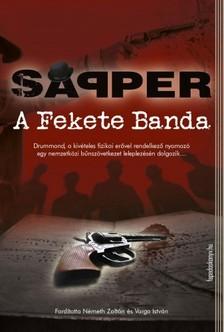 Sapper - A fekete banda [eKönyv: epub, mobi]