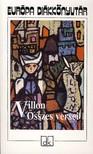 VILLON - VILLON ÖSSZES VERSEI - EDK<!--span style='font-size:10px;'>(G)</span-->