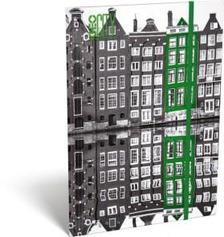 13169 - Gumis mappa A/4 GEO City Amsterdam 17251406