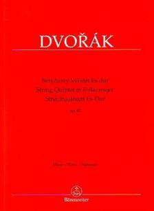 DVORAK - STREICHQUINTETT ES-DUR OP. 97 PARTS