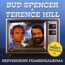 - BUD SPENCER & TERENCE HILL CD KEDVENCEINK FILMZENEALBUMA-EREDETI SLÁGEREK
