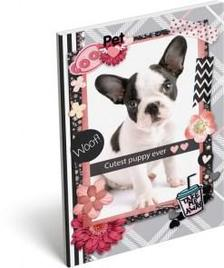13289 - Notesz papírfedeles A/6 Pet Woof 17252808