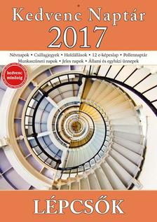 CSOSCH KIADÓ - Kedvenc Naptár 2017 - Lépcsők