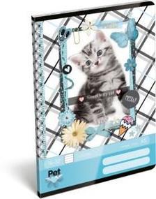 12931 - Füzet tűzött A/5 1.o. Pet Meow 17257407
