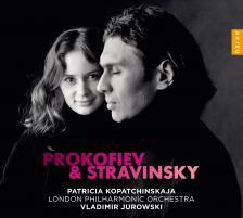STRAVINSKY,PROKOFIEV - VIOLIN CONCERTOS CD PATRICIA KOPATCHINSKAJA