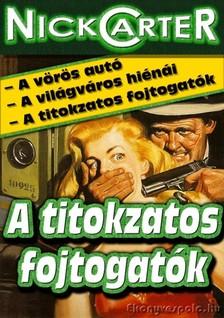 NICK CARTER - A titokzatos fojtogatók [eKönyv: epub, mobi]