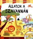 - Állatok a szavannán - kihajtható verses leporelló