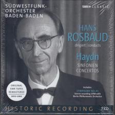 Haydn - SINFONIEN,CONCERTOS,7 CD HANS ROSBAUD