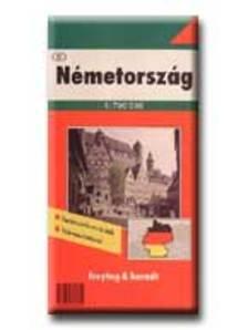 Freytag-Berndt - NÉMETORSZÁG TÉRKÉP