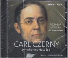 CZERNY - SYMPHONIES NO.2&6,CD