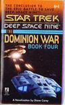 CAREY, DIANE - The Dominion War Book 4 - ...Sacrifice of Angels [antikvár]