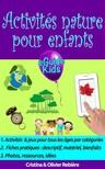 Cristina Rebiere, Olivier Rebiere, Cristina Rebiere - Activités nature pour enfants - Créez de la magie dans la nature pour vos enfants! [eKönyv: epub,  mobi]