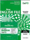 OXENDEN, CLIVE - NEW ENGLISH FILE INTERMEDIATE WORKBOOK + MULTIROM CD