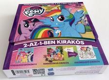 - My Little Pony / Foglakoztatókönyv és 2-az-1-ben kirakós