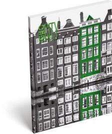 13299 - Notesz papírfedeles A/7 GEO City Amsterdam 17264906