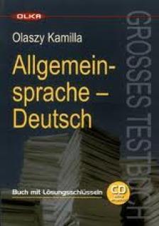 Olaszy Kamilla - ALLGEMEINSPRACHE DEUTSCH - GROSSES TESTBUCH - KÖNYV + CD -