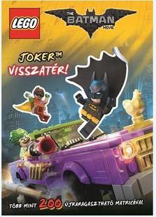 - LEGO Batman - Joker visszatér / matricás foglalkoztató