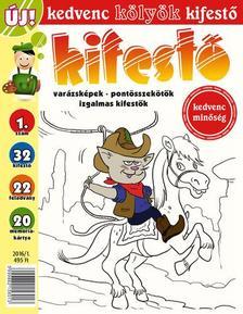 CSOSCH KIADÓ - Kedvenc Kölyök Kifestő 1.