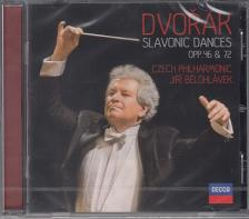 DVORAK - SLAVONIC DANCES OPP.46 C& 72 CD JIRI BELOHLÁVEK