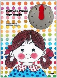 - Pöttyös Panni egy napja - lapozó órával
