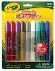 - Crayola 9 csillámragasztó
