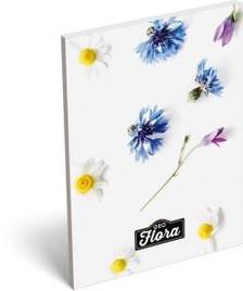 13301 - Notesz papírfedeles A/7 GEO Flora Daisy 17265015