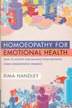Handley, Rima - Homoeopathy for Emotional Health [antikvár]