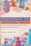 Rima Handley - Homoeopathy for Emotional Health [antikvár]