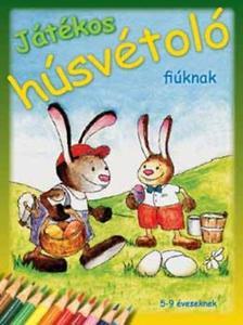 DI-458220 - JÁTÉKOS HÚSVÉTOLÓ LÁNYOKNAK - 5-9 ÉVESEKNEK
