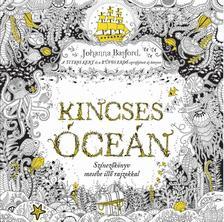 Johanna Basford - Kincses Óceán - Színezőkönyv mesébe illő rajzokkal ###