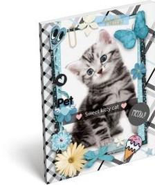 13315 - Notesz papírfedeles A/7 Pet Meow 17265207