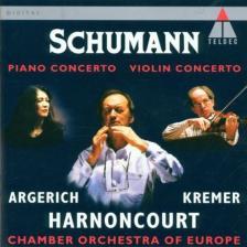 - SCHUMANN - PIANO CONCERTO - VIOLIN CONCERTO - CD -