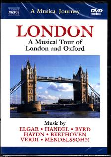 DVORAK - LONDON - TOUR OF LONDON AND OXFORD DVD