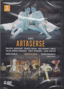 VINCI - ARTASERSE DVD JAROUSSKY