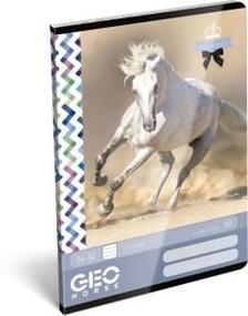 12928 - Füzet tűzött A/5 1.o. GEO Horse One 17510306