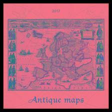 SmartCalendart Kft. - SG Naptár Antique maps 2017 42x42cm