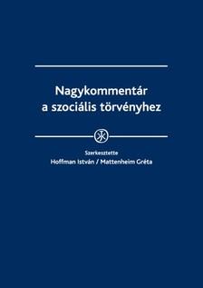 - Mattenheim Gréta (szerk.) Hoffman István - Nagykommentár a szociális törvényhez [eKönyv: epub, mobi]