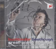 BEETHOVEN - GREAT PIANO SONATAS CD RUDOLF BUCHBINDER