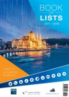 - Book of Lists-Listák könyve 2017-2018